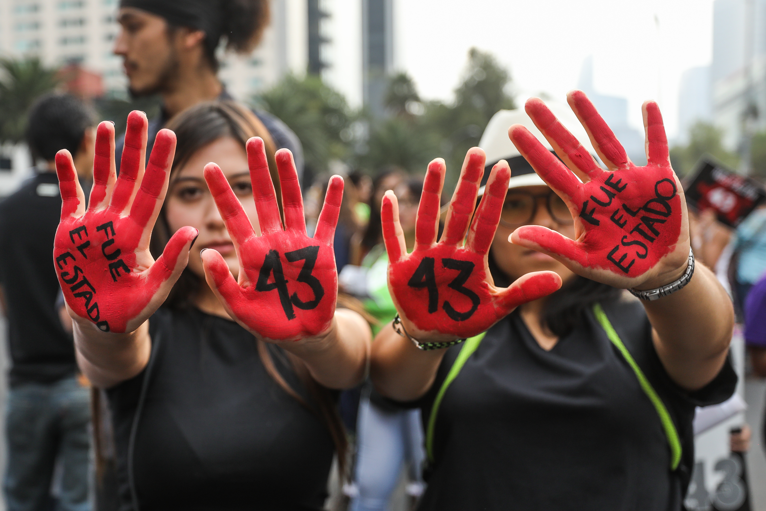 Americas Program: Somber Mexico City March Commemorates Ayotzinapa Anniversary
